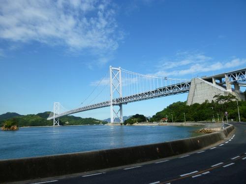 しまなみ海道 「因島大橋」
