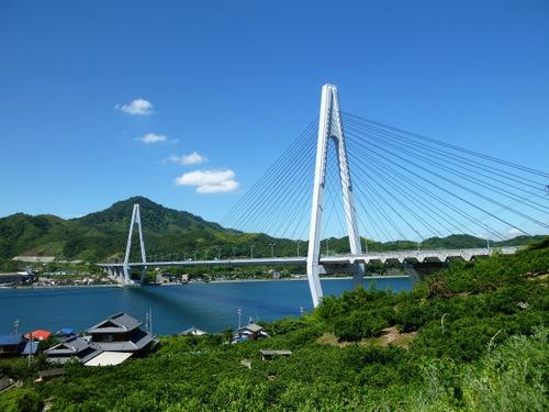 しまなみ海道 「生口橋」